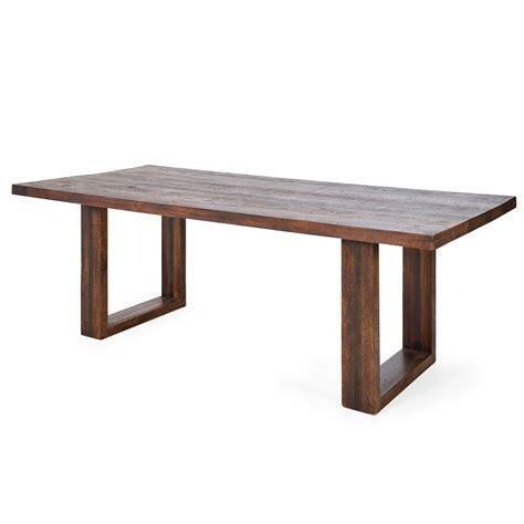 möbel aus massivholz esstisch kumasi aus massivholz in antik braun 100 x 220 cm