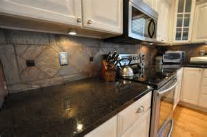 Kitchen Tile Backsplash Ideas Granite Countertops