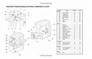 Ricoh Aficio 3035 3045 B264 B265 Circuit Diagram