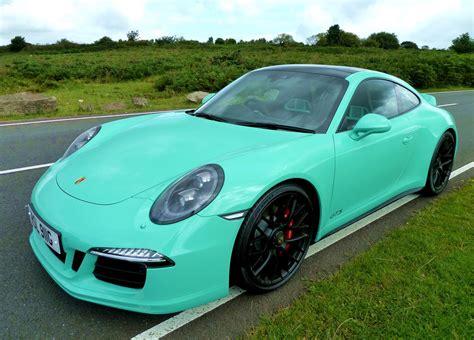 porsche mint green paint code used 2016 porsche 911 carrera 991 carrera gts pdk for
