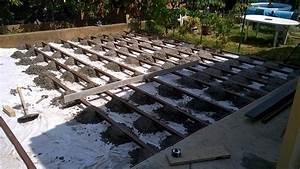 prix terrasse sur pilotis en beton 13 construction d With prix d une terrasse beton