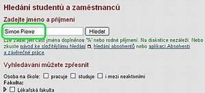 Vyhledání majetku podle jména