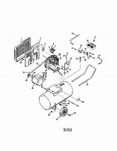 Devilbiss Model Lg6520 Air Compressor Genuine Parts