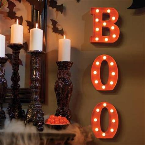 battery operated boo marquee letters grandin road