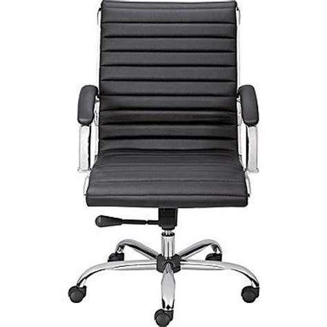 staples bresser luxura managers chair black office