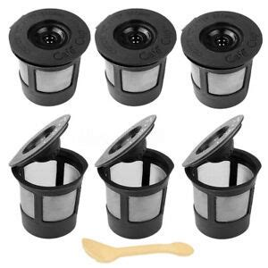 That being said, our advice would be to go for the regular replacement, as it's a big health issue. 6 PACK Reusable Coffee Pods Single Solo K-Cup For Keurig Replacement Filter 644287969317 | eBay