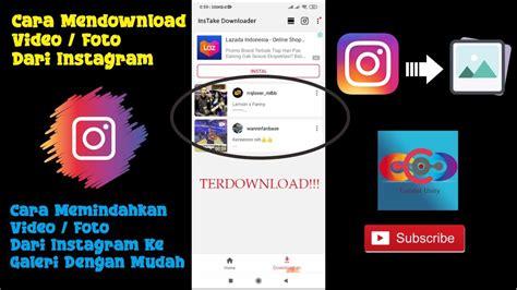 Untuk lebih lengkapnya lagi, berikut ini adalah beberapa cara menyimpan video dari instagram ke galeri tanpa. Cara Mendownload Video/Foto Dari Instagram - YouTube