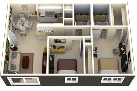 logiciel pour amenager une chambre 50 plans 3d d 39 appartement avec 2 chambres
