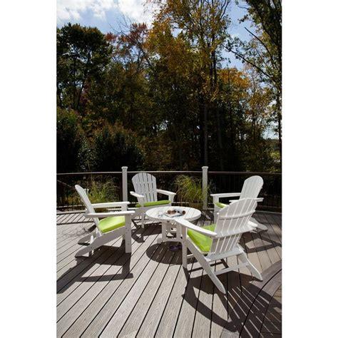 trex outdoor furniture cape cod classic white 5