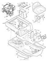 Murray Mower Carburetor Diagram by Murray 30500x92a Lawn Tractor 1998 Parts Diagram For