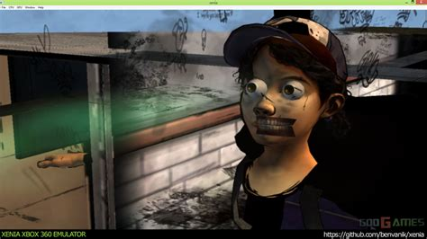 Xenia Xbox 360 Emulator The Walking Dead Season 2 Ingame