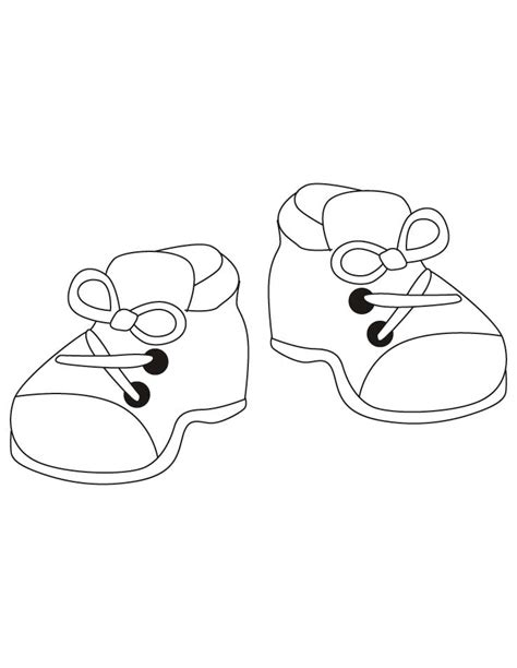 Coloring Shoes by Shoes Coloring Pages Free Shoes