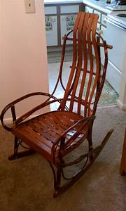 amish hickory rocker collectors weekly With amish rocking chair for sale