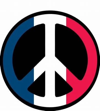 Flag Clipart Peace French Clip France Sign