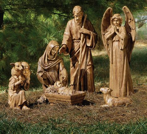 decor inspiring nativity sets  sale  christmas