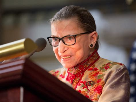 Supreme Court Justice Ruth Bader Ginsburg, 85, Hospitalized After Fracturing Ribs In Fall At