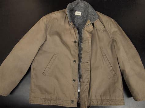 n1 deck jacket from ww2 stumptown traders us navy n 1 deck jacket ww2 and post