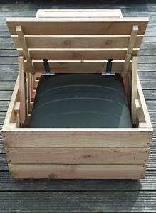 Transat En Bois : transat en bois fabriquer pour le jardin deco cool ~ Teatrodelosmanantiales.com Idées de Décoration