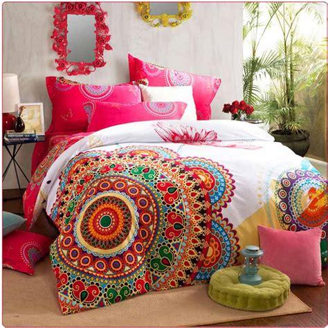 bohemian duvet cover king luxury boho bedding sets king size bedclothes 4856