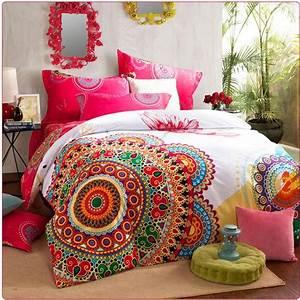 King Size Bettwäsche : luxury boho bedding sets queen king size bedclothes bohemia duvet cover set bedsheet pillowcase ~ Watch28wear.com Haus und Dekorationen