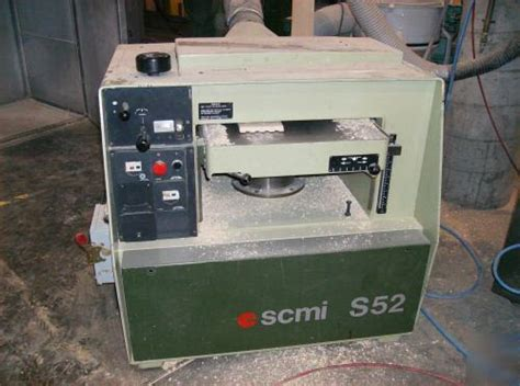 scmi   planer  woodworking machinery