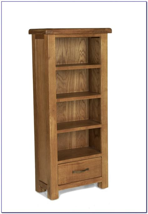 Oak Bookcase by Narrow Oak Bookcase Uk Bookcase Home Design Ideas