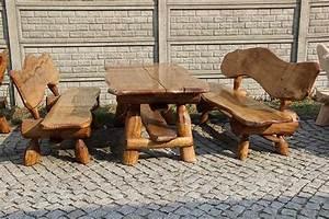 Kinderbank Aus Holz : max rustikale gartengarnitur sitzgruppe gartenm bel vollholz holz neu massivholz ~ Sanjose-hotels-ca.com Haus und Dekorationen