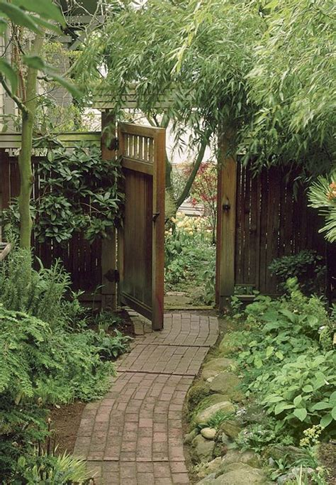 side yard gate ideas side yard w brick path landscape paths gates arbors pinterest gardens on the side