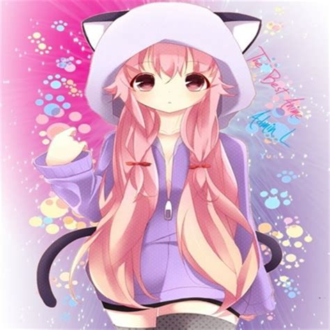 anime girl in cat jacket roblox