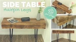 Hairpin Legs Tisch : hairpin legs bank tisch coffee table side table ~ Watch28wear.com Haus und Dekorationen