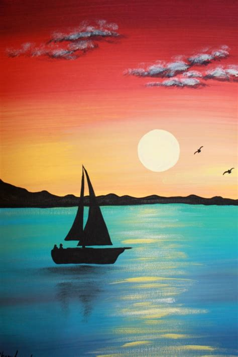 That's why it's extremely helpful when artists create. 42 Simple Acrylic Canvas Painting Ideas for Beginners