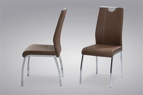 chaise à manger chaise de table a manger en cuir ciabiz com