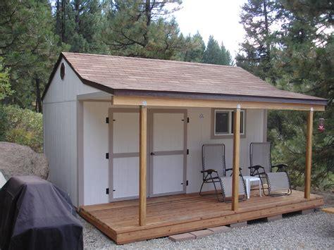 idaho wood sheds shops built