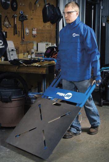 miller arcstation fx welding table