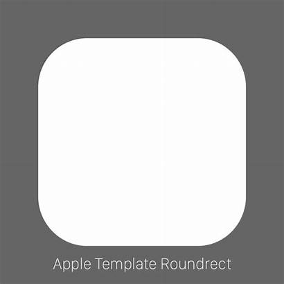 Icon Template Apple App Official Squircle Thoughts