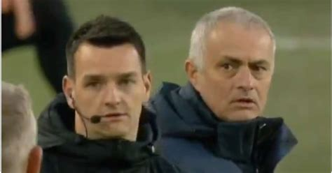 José Mourinho had fourth official Andy Madley rolling his ...