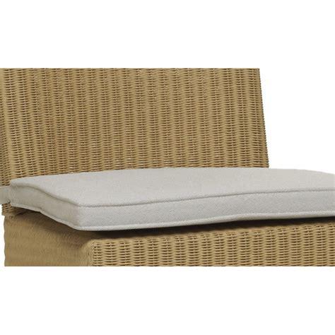 chaise de cuisine confortable coussin seul pour chaise en loom joséphine coloris écru
