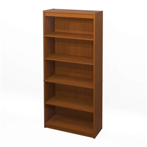 office file cabinets bestar 5 shelf bookcase