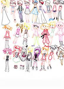 Cute Outfit Drawings