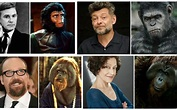 Andy Serkis plays ape leader Caesar   Planet of the Apes ...