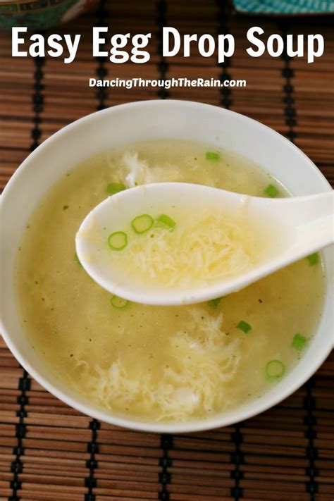 how to make egg drop soup easy egg drop soup