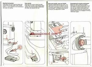 Pfaff 1196  1197  1199  1209 Sewing Machine Instruction