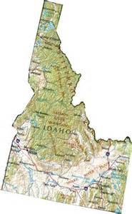 Idaho State Highway Map