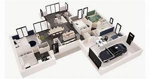 Maison Kalice Plan 3d Maisons D U0026 39 En France Atlantique