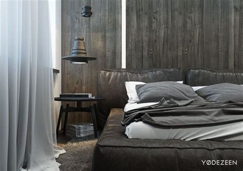 A And Calming Bachelor Pad With Wood And Concrete by A And Calming Bachelor Bad With Wood And