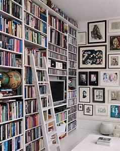 Bibliothèque Murale Design : d co maison une biblioth que qui recouvre tout un mur etagere livres sh ko ~ Teatrodelosmanantiales.com Idées de Décoration