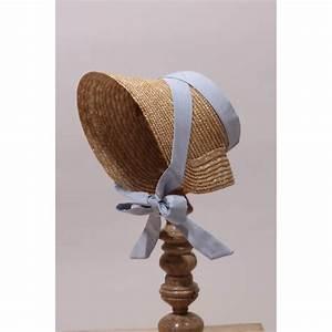 Chapeau De Paille Enfant : chapeau de cort ge style empire en paille naturelle ~ Melissatoandfro.com Idées de Décoration
