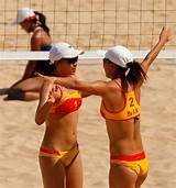 Asian games beach volleyball pictures