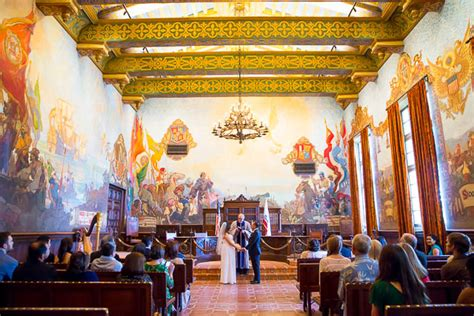 santa barbara courthouse mural room santa barbara wine cask wedding donna george