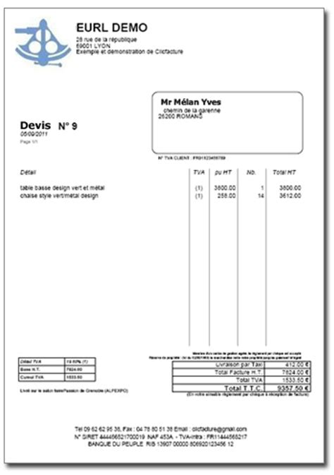 Frais Invoice Home – Page 3 – modele facture simple WC93